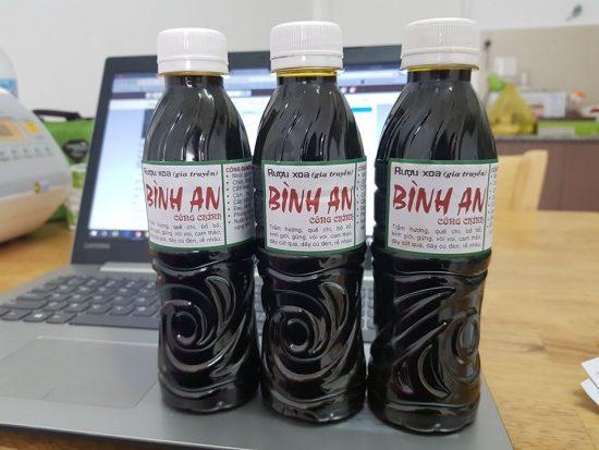 Dầu Xoa Bóp Bình An Chai 360ml